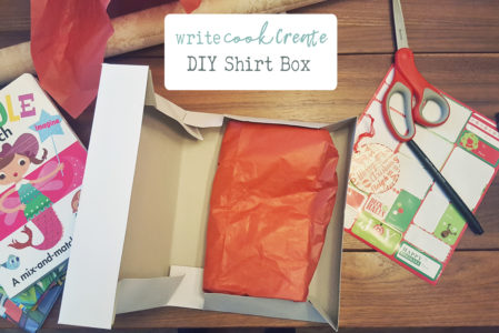 DIY – Create custom box from shirt box