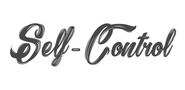 self-control fruit of the spirit