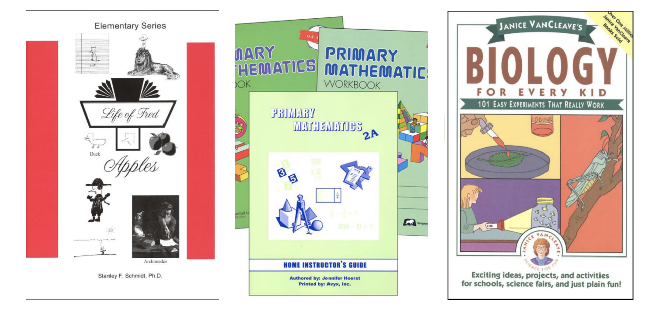 homeschool curriculum bargain shopping