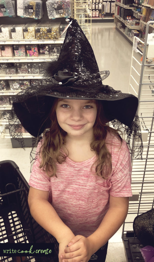 witch's hat michaels halloween costume