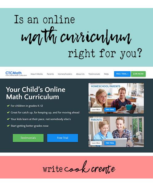 ctcmath, math curriculum, homeschool math curriculum, homeschool family membership
