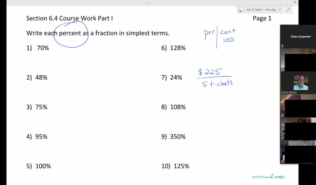 percentages, prealgebra, pre-alegebra, fractions