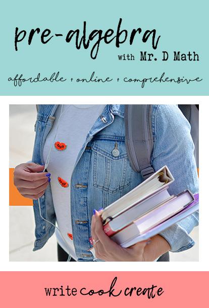 pre-algebra, mr. d math, online math